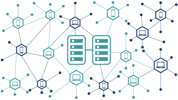 8bitmen.com Difference between centralized, decentralized & distributed systems